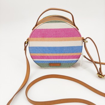Crossbody circle colours Fossil